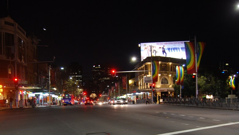 Oxford Street is known for its alternative lifestyles, fashion, entertainment, bars and restaurants.