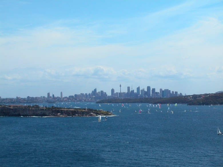 Sydney Harbour - looking towards the City