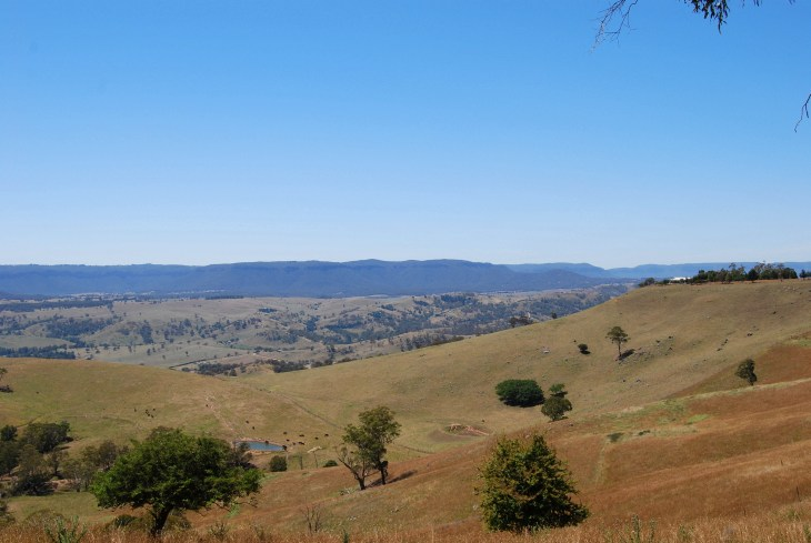 Central Tablelands Near Oberon.