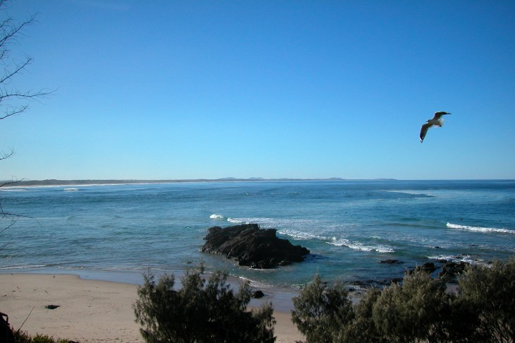 Stunning coastal views are found on the NSW North Coast.