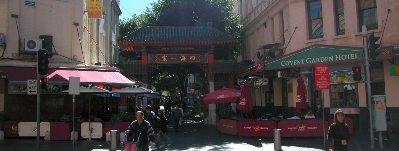 Entrance to Dixon Street, Chinatown