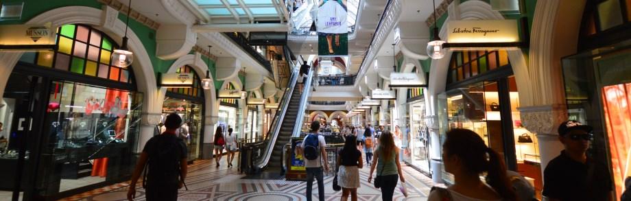 Queen Victoria Building Shopping (QVB)