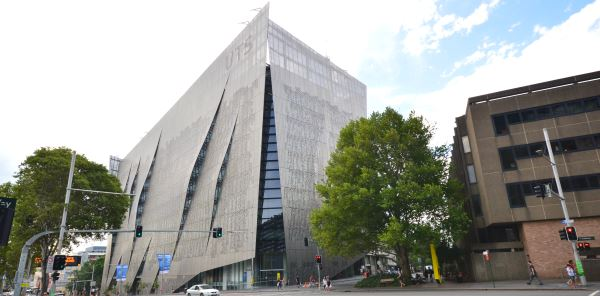 Across the Street: University of Technology Sydney (UTS)