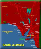 Maps of SA