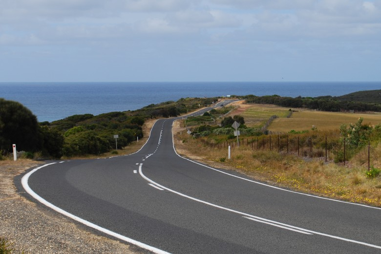 The Road to Bells Beach Australia