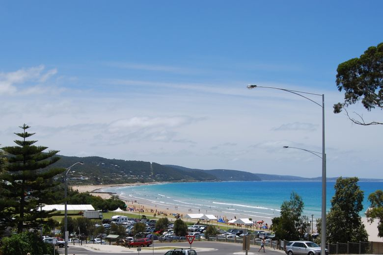 Lorne is situated on the Victoria Surf Coast