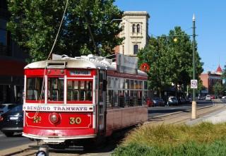 Bendigo Historic Tram Tour, Hop-On Hop-Off.