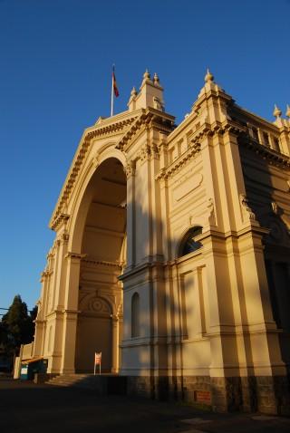 Side Entrance to the Melbourne Landmark Royal Exhibition Building
