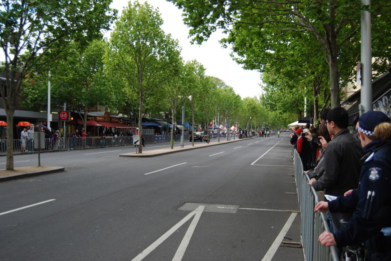 In the heart of Melbourne's little Italy, the Jayco Sun Tour on Lygon Street