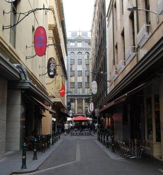 Degraves Street - Famous Melbourne Landmark