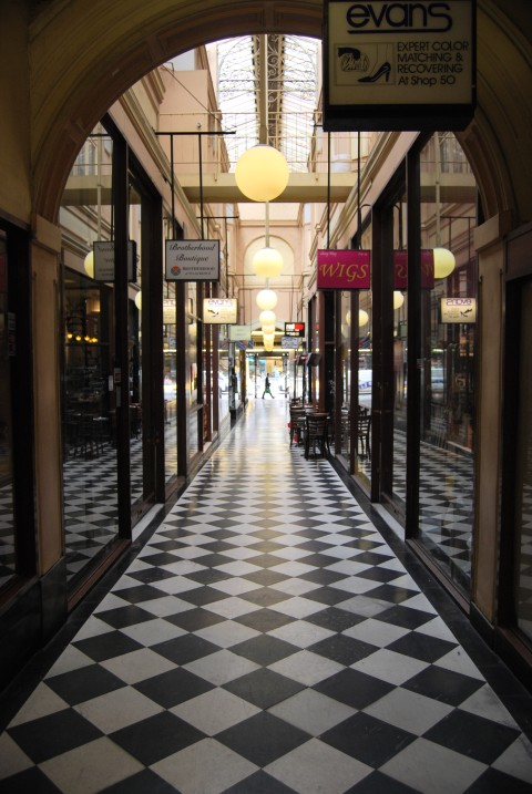 Shopping at the Melbourne Royal Arcade - 19th Century Charm.
