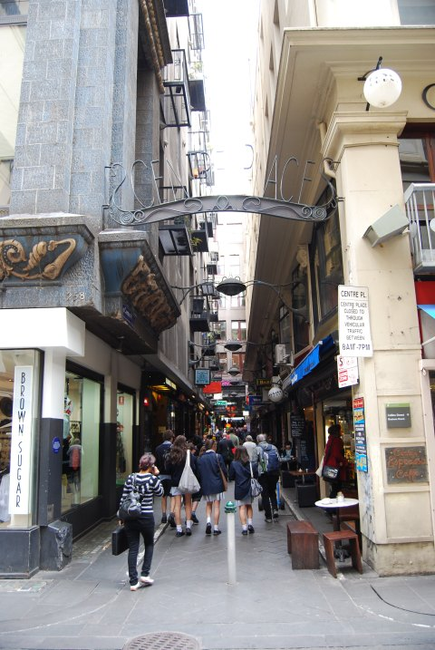 Melbourne's Laneways and Alleys have long been great Places For Shopping, Eating and Nightlife