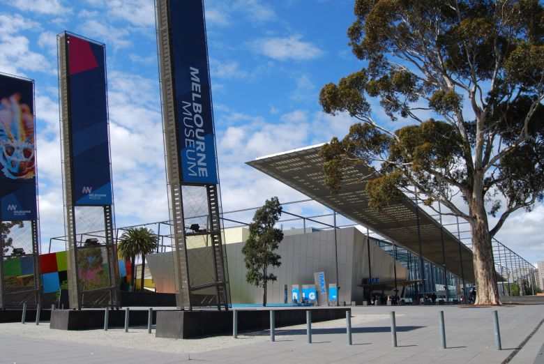 The Melbourne Museum's design makes it a city landmark