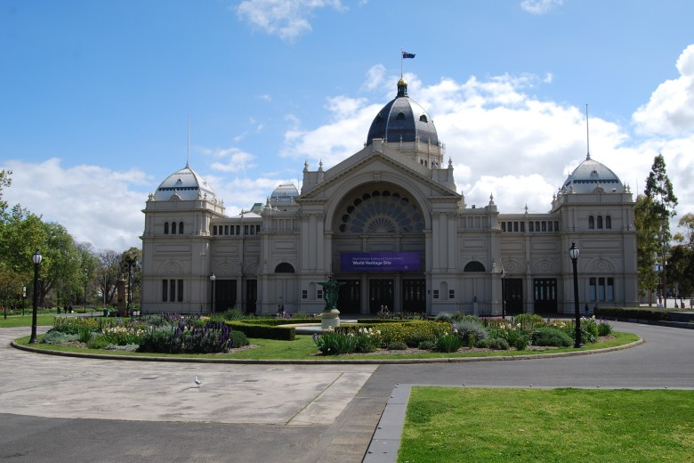 Photo: The Melbourne Royal Exhibition Building - now also a World Heritage Site.