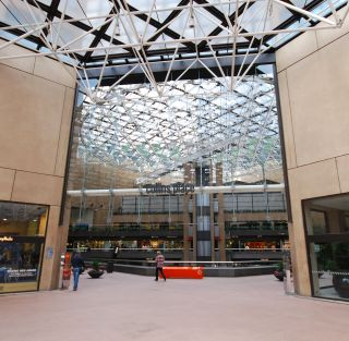 Entrance to Collins Place