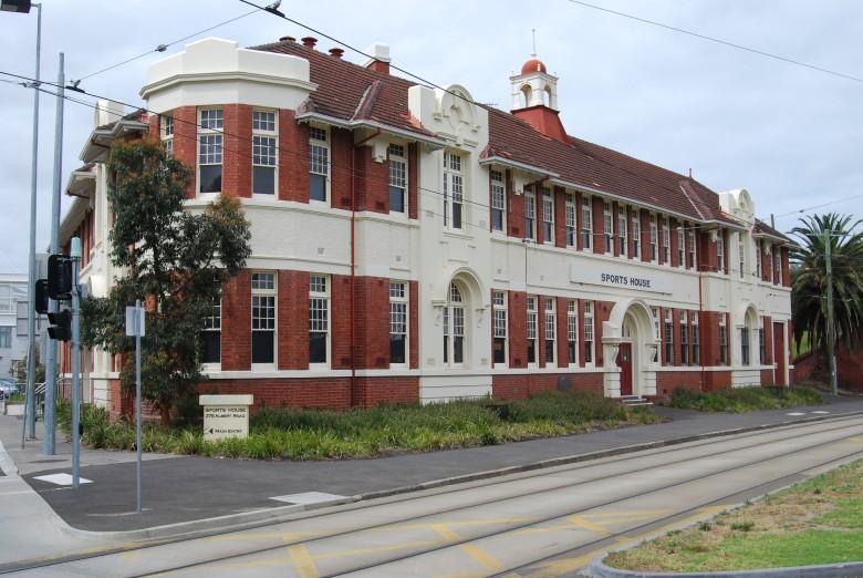 Historic Melbourne landmark - The Sports House