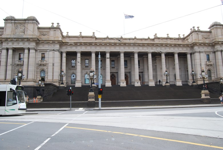 Melbourne Landmark - Parliament House of Victoria