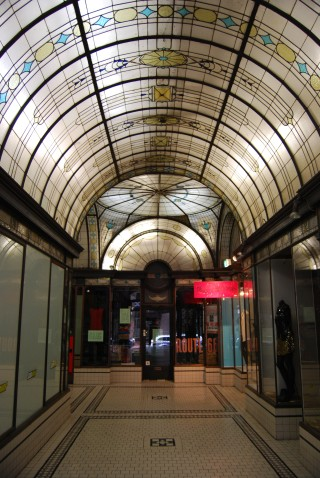 Ceiling of the Royal Arcade in Melbourne