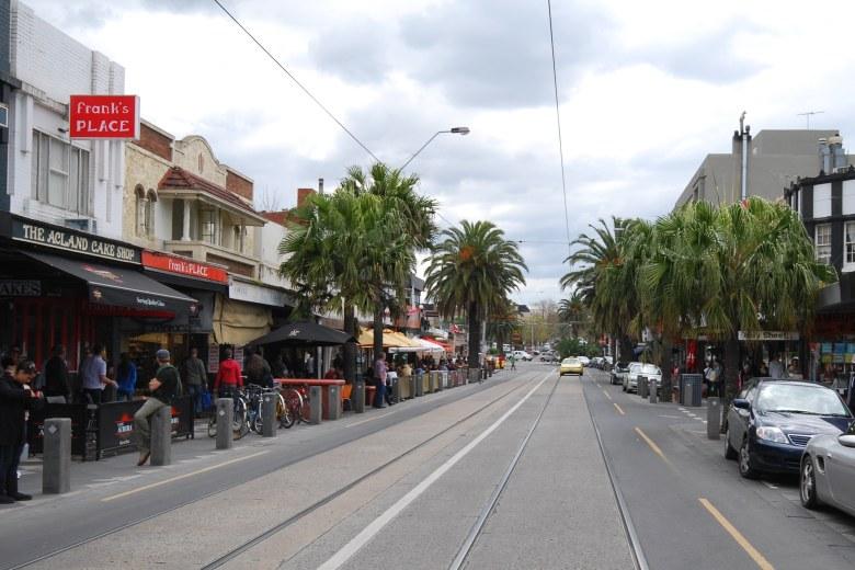 St Kilda Road, Melbourne Australia.
