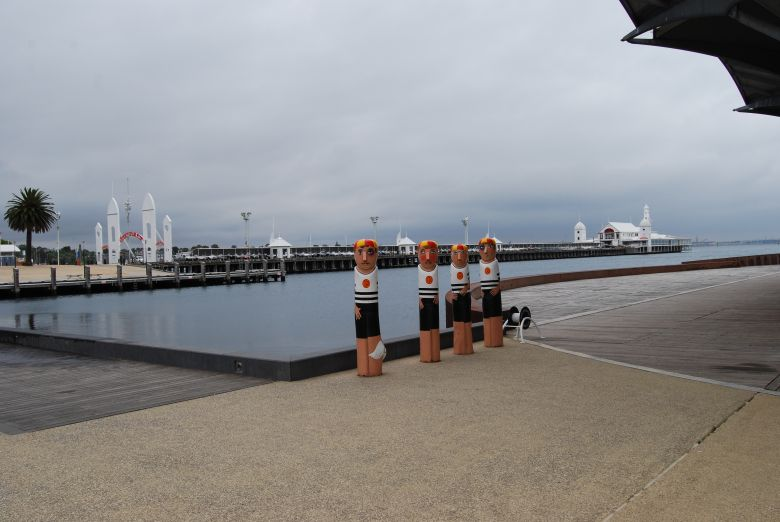 Pier at Geelong on Port Phillip Bay