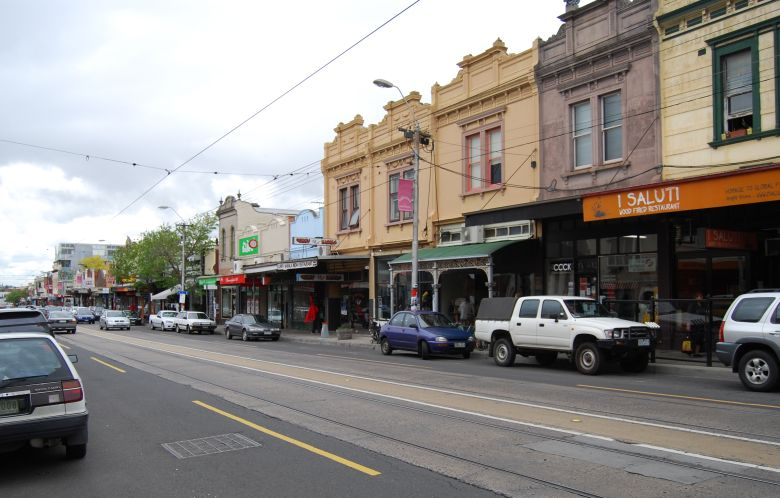 Eateries, Cafes, Restaurants and Wine Bars along High Street, Melbourne