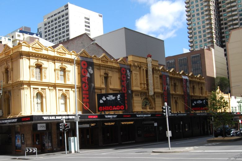 Her Majesty's Theatre - 219 Exhibition Street cnr Little Bourke St.