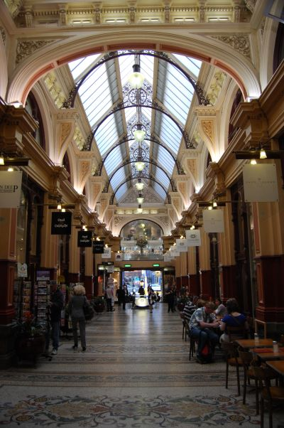 The Block Shopping Arcade Melbourne Australia.
