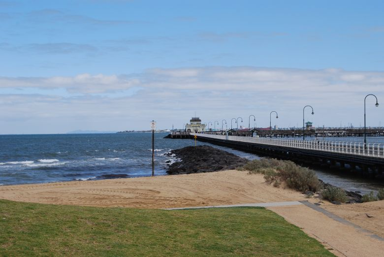 This historical pier in St Kilda Melbourne saw many immigrants disembark