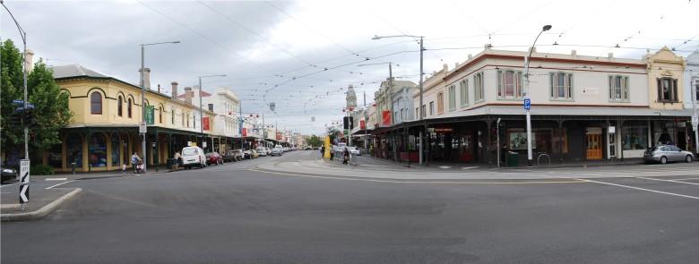Corner of Victoria and Errol Streets, Melbourne Australia