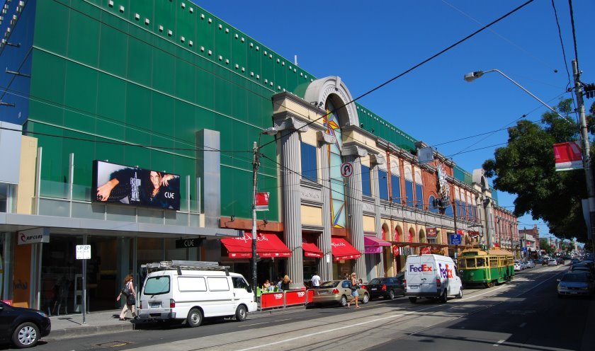 The Jam Factory in South Yarra has 16 Village cinemas, fashion shops and food