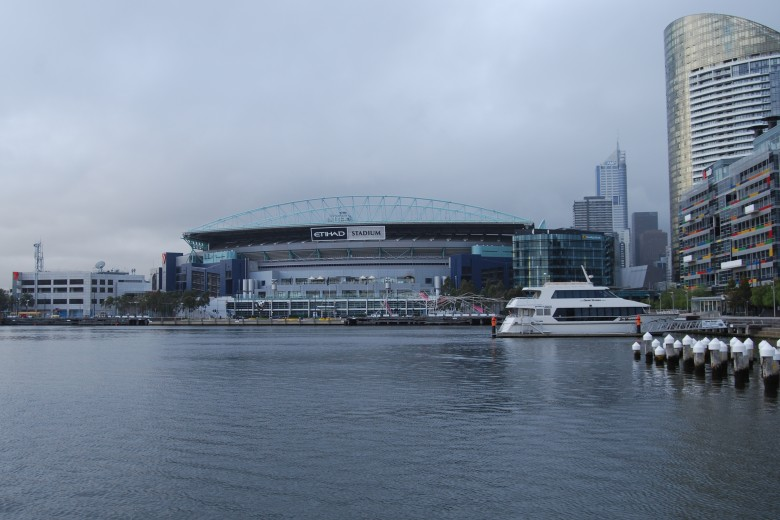 The Etihad Stadium at Melbourne's Docklands