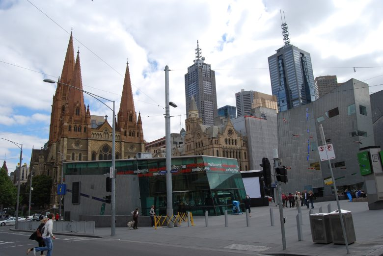 At Federation Square alongside the Yarra River - The Melbourne Visitor Centre